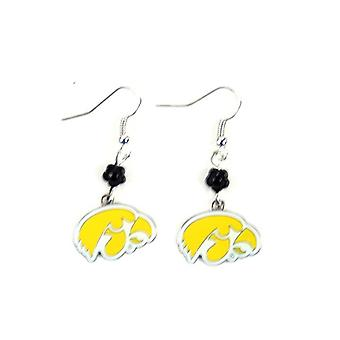 Iowa Hawkeyes NCAA Sophie Style Dangle Earrings