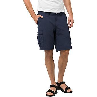 Jack Wolfskin Mens Canyon Lightweight Walking Cargo Shorts