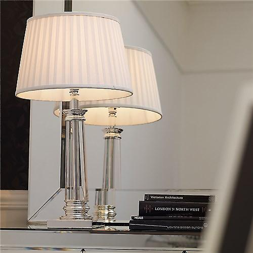 Endon BOUCHET Bouchet Contemporary Switched Crystal Table Lamp - Base Only