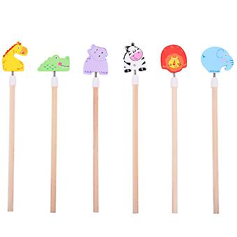 Bigjigs Toys Safari Animal Pencils