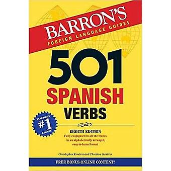 501 Spanish Verbs by Christopher Kendris - Theodore Kendris - 9781438