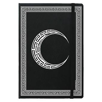 Grindstore Celtic Moon A5 Hard Cover Notebook