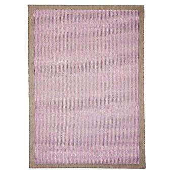 In--and outdoor carpet balcony/living room essentials Chrome plum pink 200 x 290 cm