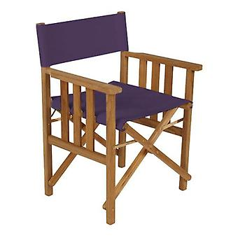 Gardenista® Purple Replacement Directors Chair Canvas Cover