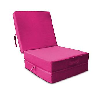 Water Resistant Fold Out Z Bed Cube - Pink