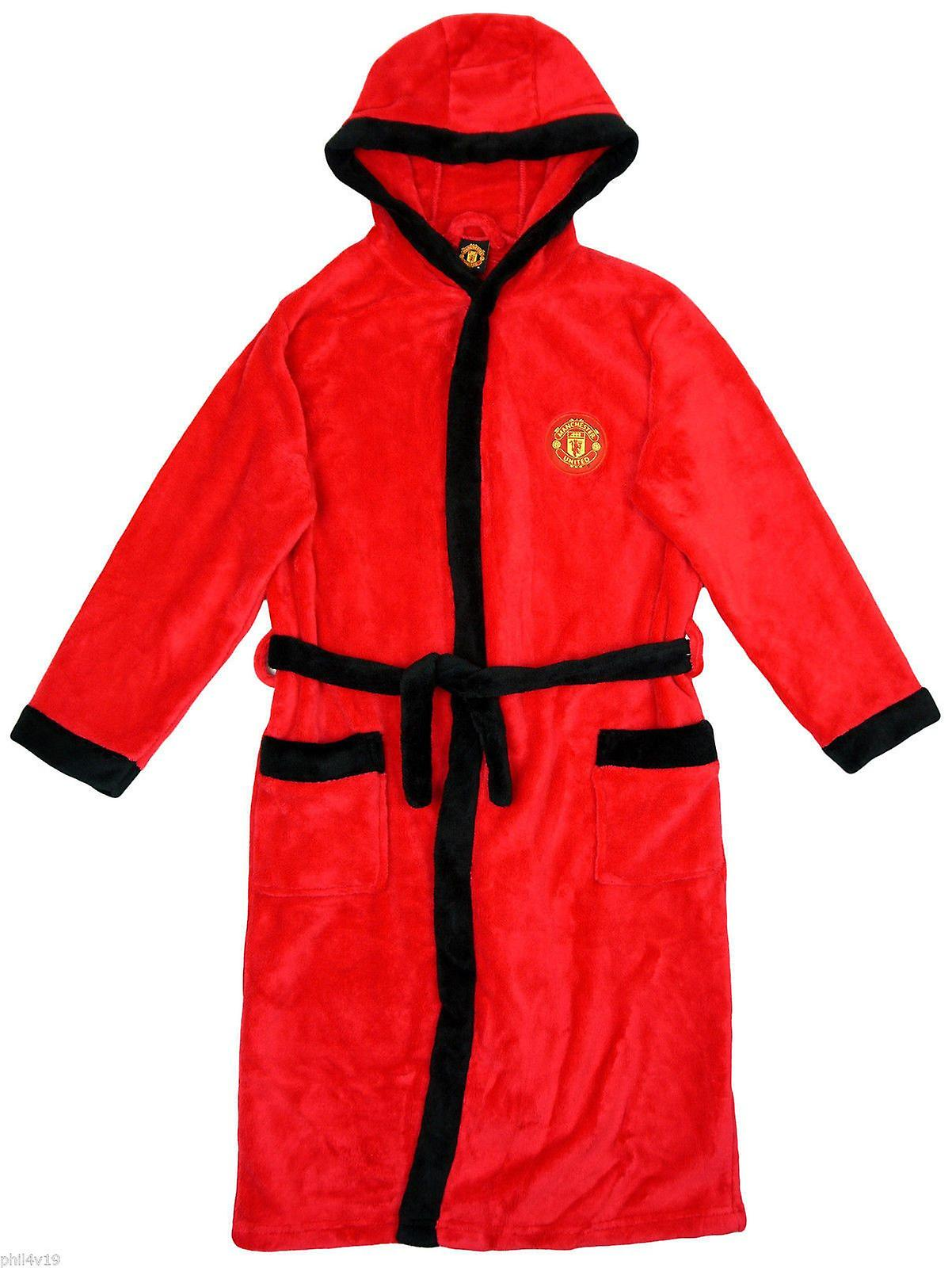 Kids Man United Dressing Gown / Childrens Manchester United robe