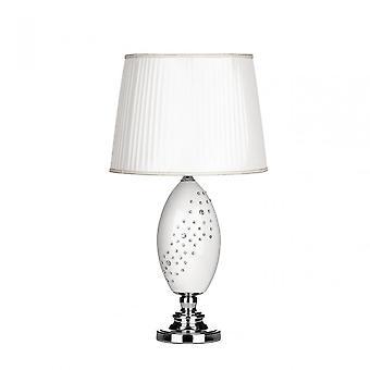 Premier hem Maisy bordslampa, keramik, vit