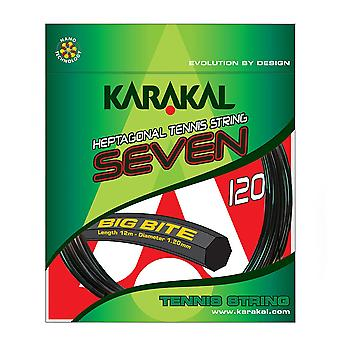 Karakal Big Bite HEP Seven Sided Tennis Racket Strings 12m Pack
