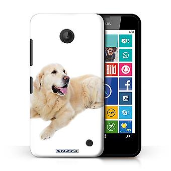 STUFF4 Case/Cover for Nokia Lumia 630/Labrador/Dog Breeds