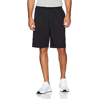 Starter Men's Mesh Shorts with Pockets, Amazon Exclusive,, Black, Size X-Large