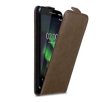 Cadorabo kotelo Nokia 2,1 2018 kotelon suojus-puhelimen kotelo Flip-suunnittelussa magneetti sulkimella-kotelo suoja kotelo kotelo, jossa kirja taitto tyyli