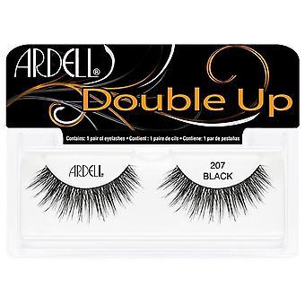 Ardell Double Up False Eyelashes Black 207