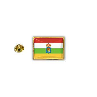 Pins Pin Badge Pin's Metal Epoxy Avec Pince Papillon Drapeau Espagne La Rioja