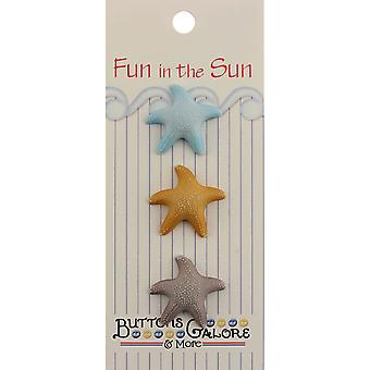 Fun In The Sun Buttons Starfish Fn 122