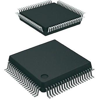 Innebygd microcontroller SAF-C161S-L25M AA MQFP 80 (14 x 14) Infineon Technologies 16-biters 25 MHz I/O nummer 63