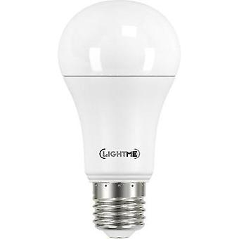 LED E27 Arbitrary 12.5 W = 104 W Cool white (Ø x L) 60 mm x 117 mm EEC: A++ LightMe 1 pc(s)