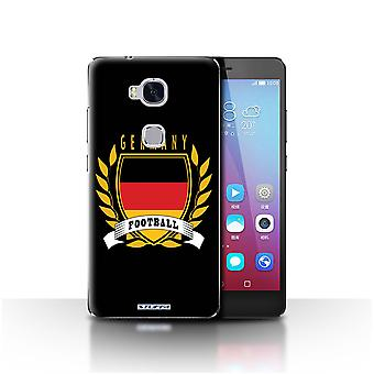 STUFF4 Case/Cover for Huawei Honor 5X/GR5/Germany/German/Football Emblem