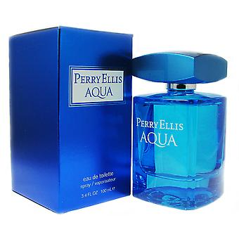 Perry Ellis Aqua for Men 3.4 oz EDT Spray