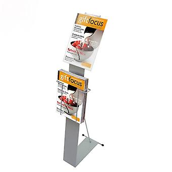 A4 Espositore di Brochure con Display Pocket