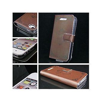 Täcka den klassisk portfölj typ i huden-iPhone 4/4s