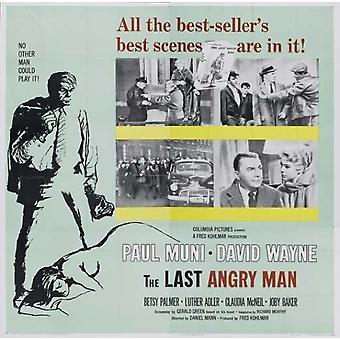 The Last Angry Man Movie Poster (11 x 17)