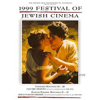 Festival der jüdischen Kino Movie Poster drucken (27 x 40)