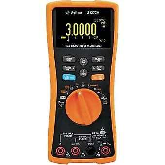 Handheld multimeter digital Keysight Technologies U1273A Calibrated to: Manufacturer standards Data logger, OLED display