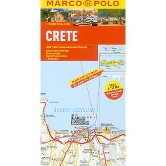 Crete Marco Polo Map by Marco Polo