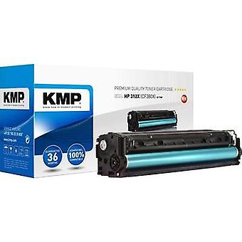 KMP Toner cartridge replaced HP 312X, CF380X Compatible Black 4400 pages H-T189