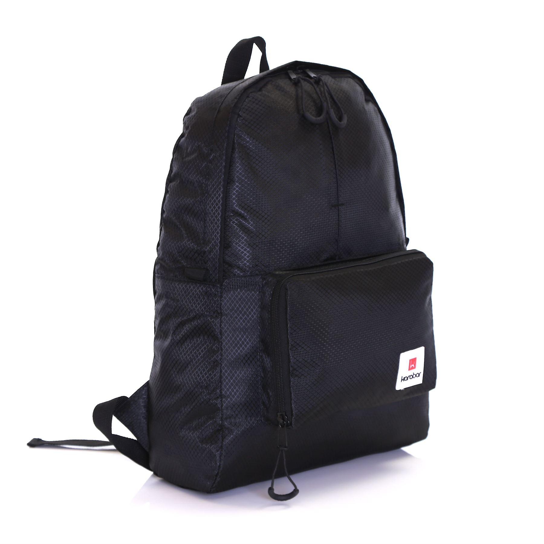 Karabar Sintra 15 Litre Foldable Backpack, Ink Black