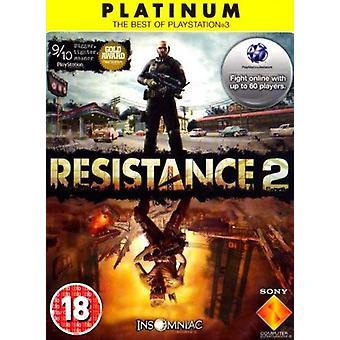 Resistance 2 - Platinum Edition PS3 spil