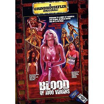 Blood of 1000 Virgins [DVD] USA import