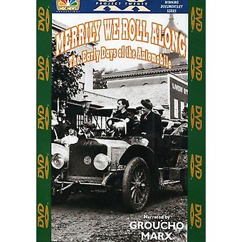 Merrily We Roll Along - Early Days of the Automoblie [DVD] USA import