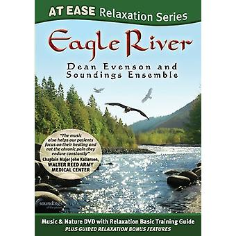 Evenson, Dean & spotdybder Ensemble - Eagle River (på lethed Relaxatation Series) [DVD] USA import