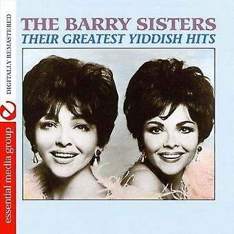 Barry Sisters - importación de Estados Unidos Their Greatest Hits de Yiddish [CD]