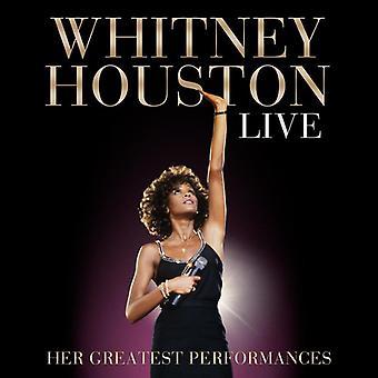 Whitney Houston - Live: Hendes største forestillinger [CD] USA importerer