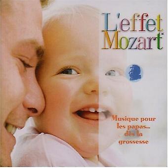 Don Campbell - L'Effet Mozart: Musique Pour Les Papas... Dør La Grossesse [CD] USA importerer