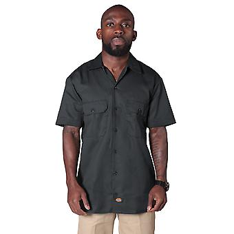 Dickies Short Sleeve Work Shirt - Charcoal Dickies1574CH Mens Classic Work Shirt