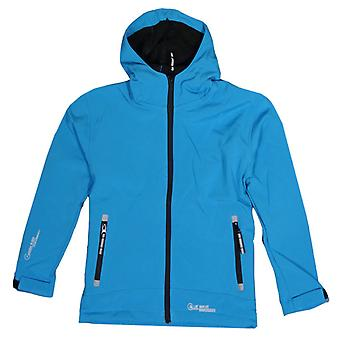 Blue Wave Kinder Softshell-Jacke türkisblau - 0220-13