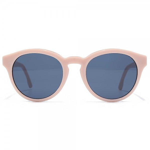 Diesel Keyhole Round Sunglasses In Shiny Pink