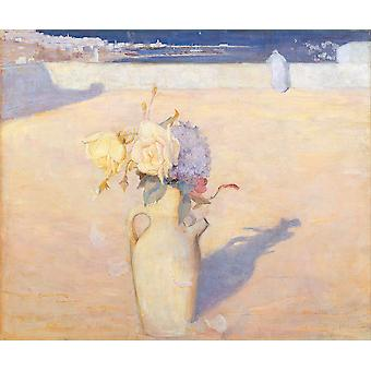 Charles Conder - The hot sands Mustapha Algiers Poster Print Giclee