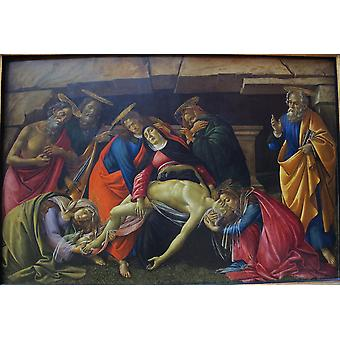 Sandro Botticelli - The Death Poster Print Giclee