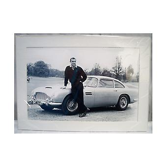 Sporting Display James Bond Goldfinger Mounted Photo
