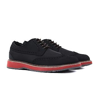 SWIMS Barry Black Brogues