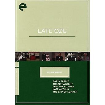Späten Ozu [DVD] USA importieren