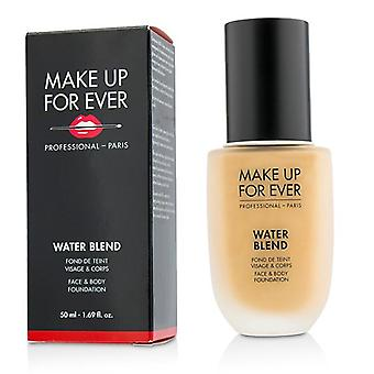 Make Up For Ever Water Blend Face & Body Foundation - # Y325 (Flesh) - 50ml/1.69oz