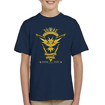 Pokemon Go Team Instinct Crest Kid's T-Shirt