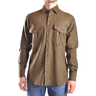 Peuterey men's MCBI235129O green wool shirt