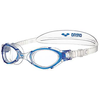 Arena Nimesis Crystal Medium Swim Goggle- Clear Lens - Clear/Blue