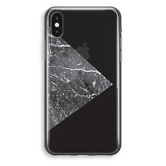 iPhone X Transparant Case - Marble combination